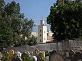 Minaret seen from the muslim graveyard - panoramio.jpg