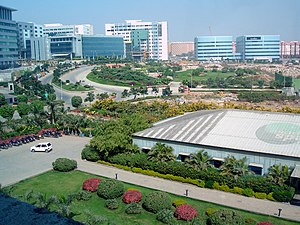 MindSpace campus in Hyderabad, India