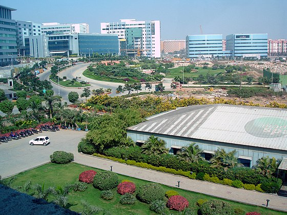 Hyderabad has prominent IT parks and is the fourth-most populated metropolis