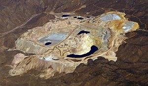 Mineral Park mine - Image: Mineral Park mine AZ 2008