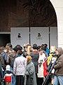 Minsk Metro blast entrance2 Mourning day.jpg