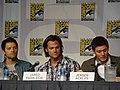 Misha Collins, Jared Padalecki & Jensen Ackles (4852414260).jpg