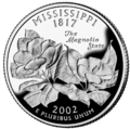 Mississippi quarter, reverse side, 2002.png