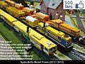 Modelismo Ferroviario, Model Trains, Modelisme Ferroviaire, Trains Miniature, Modelleisenbahn, Modelli Ferroviari, Plasser Theurer Kibri, Ayala Botto, H0, 1-87 (9622601779).jpg