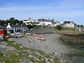 Moelfre beach on Lifeboat Day - geograph.org.uk - 1464588.jpg