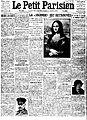 Mona Lisa Found, La Joconde est Retrouvée, Le Petit Parisien, Numéro 13559, 13 December 1913.jpg