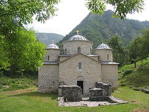 Vratko Nemanjić - Davidovica monastery, burial place of Jug Bogdan.