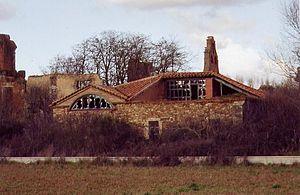 San Esteban de Nogales - Ruins of the Monastery of Santa María de Nogales