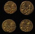 Monete d'oro di giustiniano II e tiberio IV, 705-711, 03.JPG