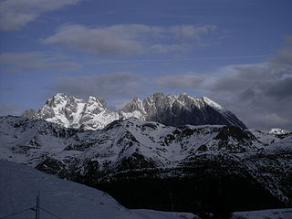 Coglians Highest mountain in the Carnic Alps