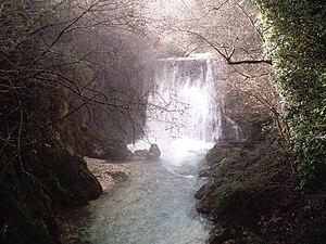 Province of Avellino - The Lavandaia Falls at Montella.
