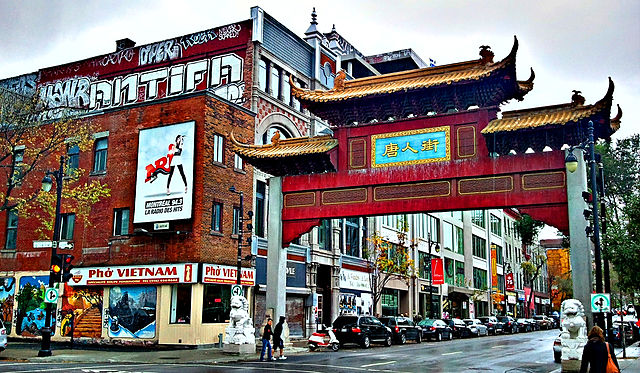 Chinatown in Montreal By Chris Dlugosz (Flickr: Montreal - china town) [CC BY 2.0 (http://creativecommons.org/licenses/by/2.0)], via Wikimedia Commons