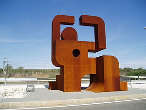 Francoist concentration camps - Memorial monument to the political prisoners who built the Bajo Guadalquivir channel