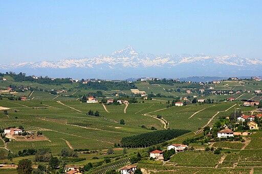 Monviso from San Marzano Oliveto