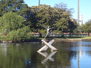 Moore Park, New South Wales - Image: Moore Park Kippax Lake