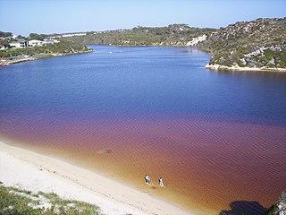 Moore River river in Western Australia