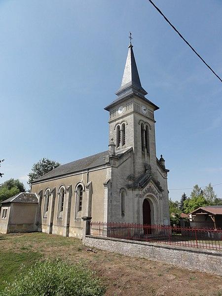 Moranville (Meuse) église