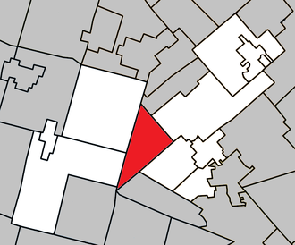 Morin-Heights - Image: Morin Heights Quebec location diagram