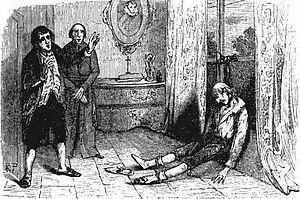 Louis Henri, Prince of Condé - Finding The Prince. Gravure extraite de lHistoire de Louis-Philippe Ier roi des Français, 1847.