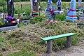 Mosyr Liubomlskyi Volynska-brotherly grave of 3 unknown UIA warriors-1.jpg
