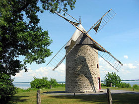 Moulin à vent de Pointe-du-Moulin