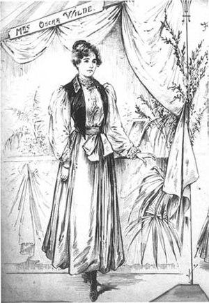 Constance Lloyd - Image: Mrs. Oscar Wilde