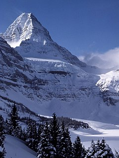Mount Assiniboine mountain in Canada