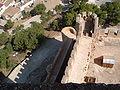 Muro norte del castillo de la Atalaya.JPG