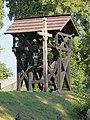 Murzynowo Kościelne, kościół św. Jana Chrzciciela, dzwonnica, widok od pd-wsch..JPG