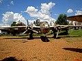 Museu Eduardo André Matarazzo - Bebedouro - Avião North American B-25J Mitchell - FAB5070. Foi da FAB que começou a operar o avião em 1944. Ao fundo o Curtiss C-46A Commando - PP-VCE - panoramio.jpg