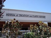 A Museum of Creation and Earth history.