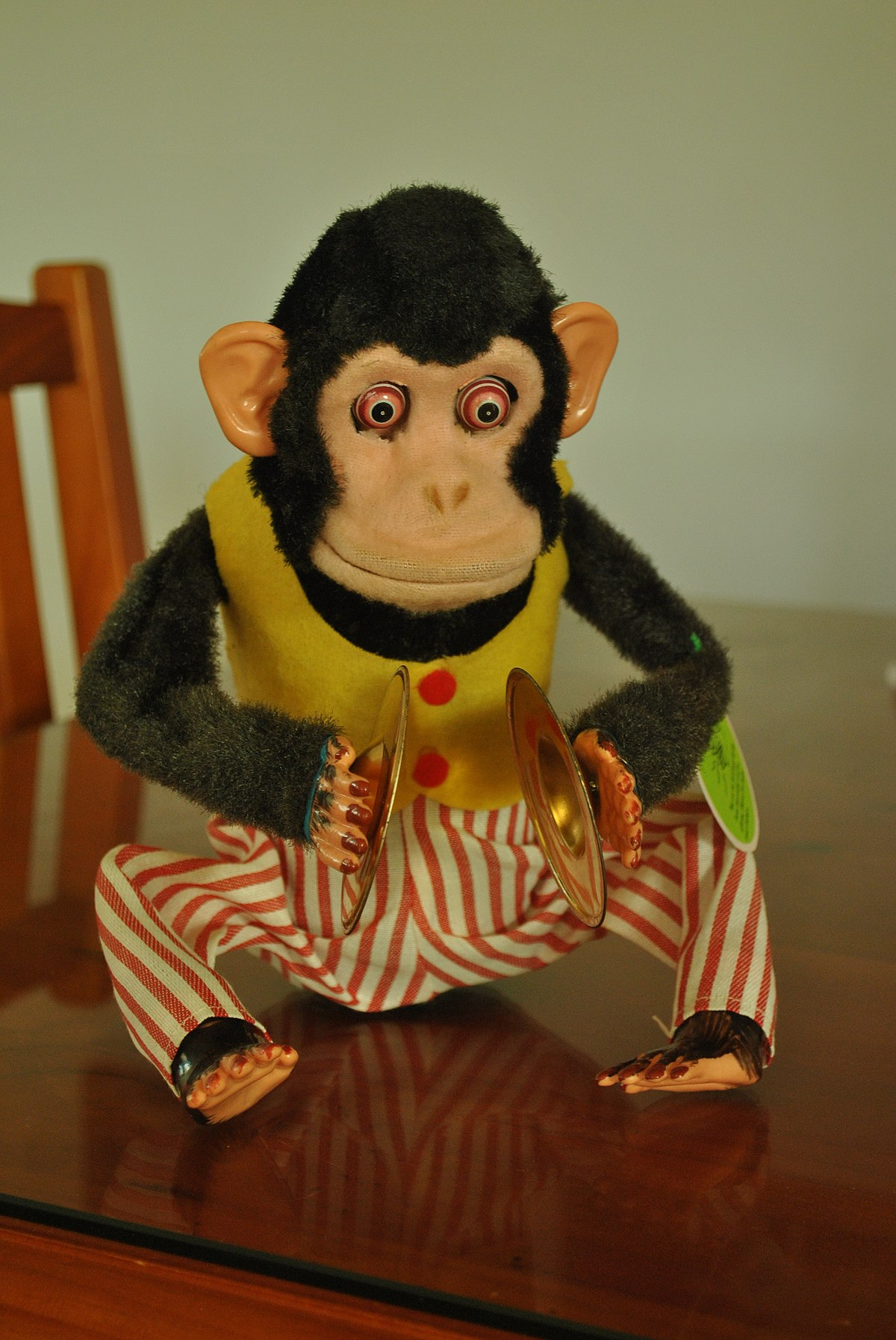 Cymbal Banging Monkey Toy Wikipedia