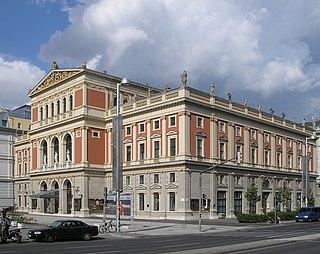 Musikverein concert hall in Vienna, Austria