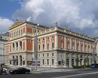 Musikverein - Wiener Musikverein, June 2006
