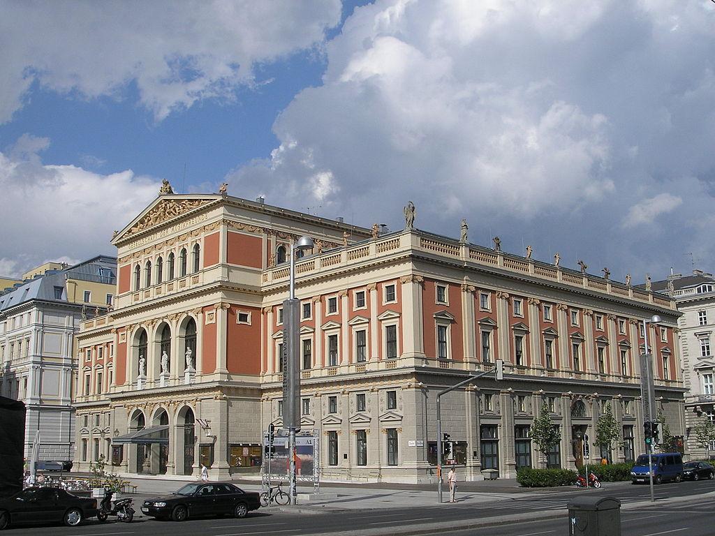 Sede de los conciertos de abono de la orquesta: el Musikverein de Viena, en 2004.