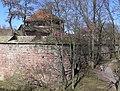 Nürnberg Hintere Insel Schütt Blaues A und Schwarzes Z.jpg