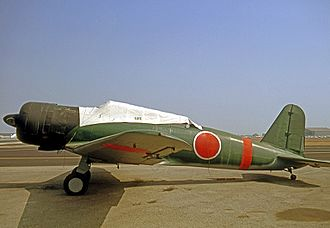 Nakajima B5N - Airworthy B5N2 Kate replica constructed from a T-6 Texan fuselage and BT-13 fin