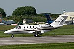 N524SF Cessna525 Coventry (25262910178).jpg