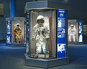 NASA space suits at JSC