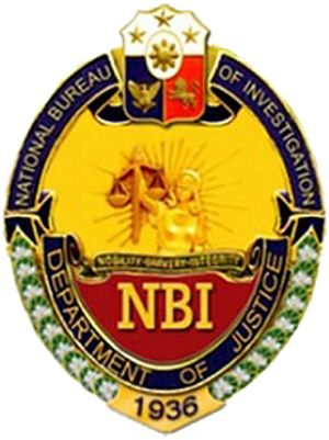 National Bureau of Investigation (Philippines) - Image: NBI Seal