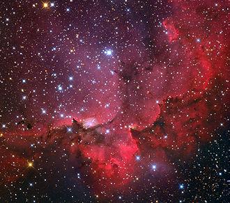 NGC 7380 - Image: NGC7380 Nebula from the Mount Lemmon Sky Center Schulman Telescope courtesy Adam Block