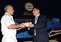 NMF Director Dr. Vijay Sakhuja handing over a memento to Vice Admiral Satish Soni.jpg