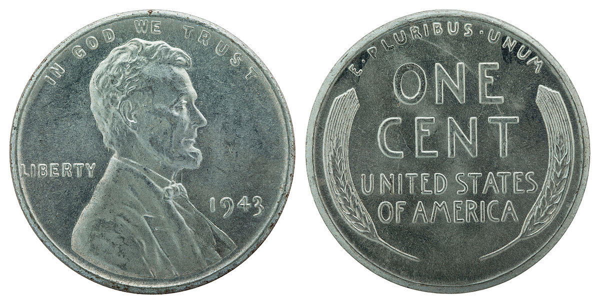 1943 Steel Cent Wikipedia
