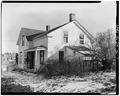 NORTHWEST SIDE, VIEW TO SOUTHEAST - P. J. Almquist House, 16 Second Street Northwest, Waukon, Allamakee County, IA HABS IOWA,3-WAUK,1-7.tif