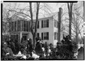NORTH AND EAST SIDE OF OLD HOUSE - General Joseph Wheeler House, State Highway 20, Wheeler, Lawrence County, AL HABS ALA,40-WHEL,1-2.tif