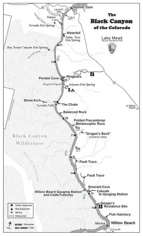 File Nps Lake Mead Black Canyon Map Pdf Wikimedia Commons