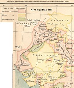 Location of Bahawalpur