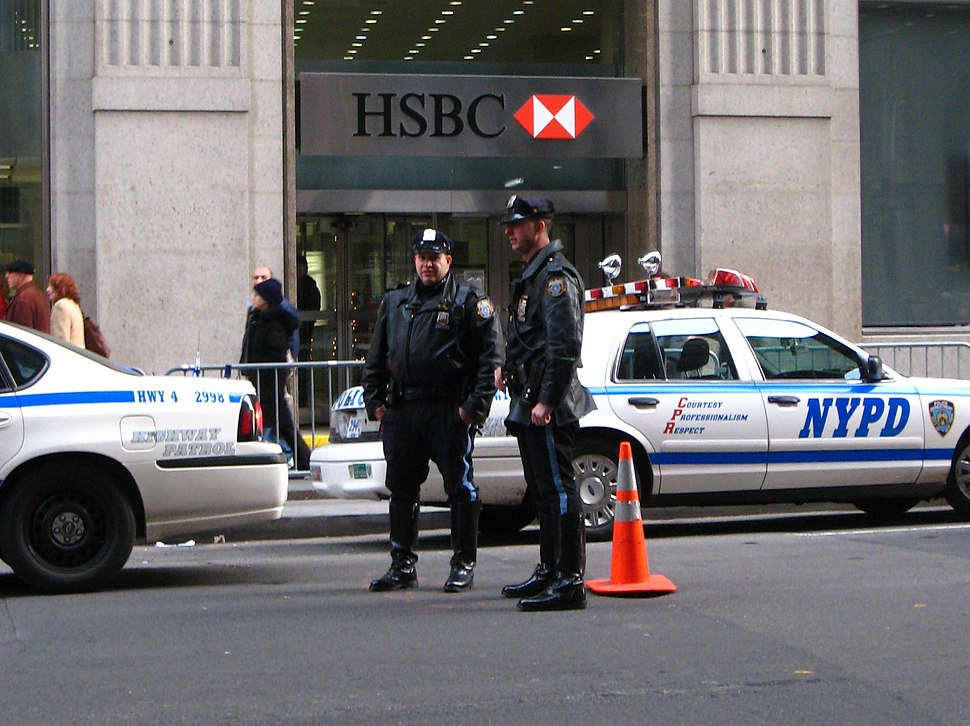 NYPD cops in Manhattan