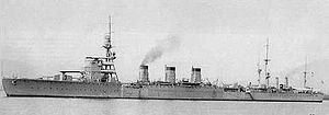 Japanese light cruiser Nagara