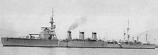 Japanese cruiser <i>Nagara</i> light cruiser in the Imperial Japanese Navy